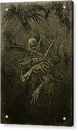 Forgotten Acrylic Print by Maciej Kamuda
