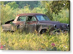 Forgotten Acrylic Print by Rusty Voss