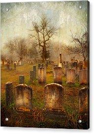 Forgotten Souls  Acrylic Print by Karen Lynch