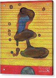 Form Elemental Acrylic Print by TB Schenck