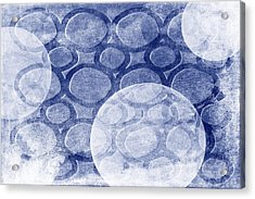 Formed In Winter Acrylic Print by Angelina Vick