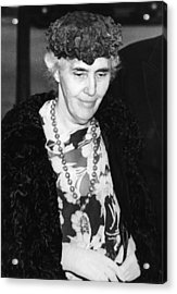 Former First Lady Lou Henry Hoover Acrylic Print by Everett