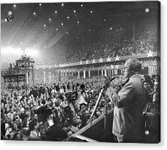 Former President Harry Truman Acrylic Print by Everett