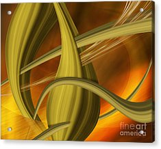 Forms In Movements 5 Acrylic Print by Johnny Hildingsson