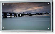 Acrylic Print featuring the photograph Forster Bridge 01 by Kevin Chippindall