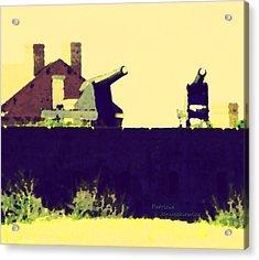 Fort Clinch Acrylic Print by Patricia Januszkiewicz