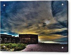 Fort Clinch Acrylic Print by Shannon Harrington