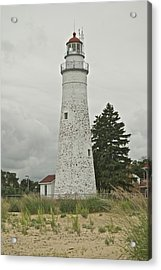 Fort Gratiot Lighthouse Acrylic Print by Michael Peychich