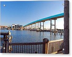Fort Myers Bridge Acrylic Print