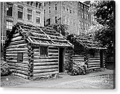fort nashborough stockade recreation Nashville Tennessee USA Acrylic Print