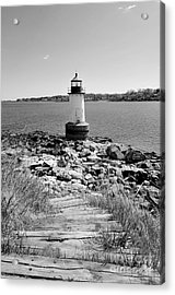Fort Pickering Light Acrylic Print by Catherine Reusch Daley
