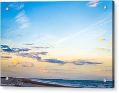 Acrylic Print featuring the photograph Forte Clinch Pier by Shannon Harrington