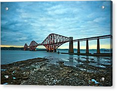 Forth Rail Bridge Acrylic Print by Svetlana Sewell