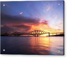 Forth Sunrise Acrylic Print by Keith Thorburn LRPS AFIAP CPAGB