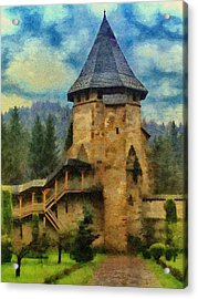 Fortified Faith Acrylic Print by Jeff Kolker