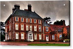 Acrylic Print featuring the photograph Forty Hall by David Harding