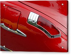 Acrylic Print featuring the photograph Fortynine Buick by John Schneider