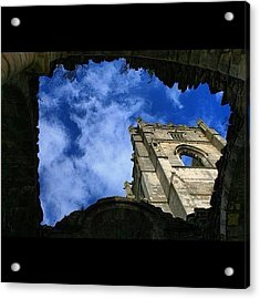 Fountains Abbey From The Dungeon Acrylic Print