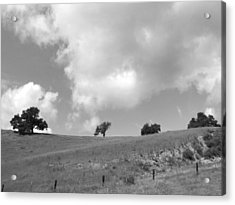 Acrylic Print featuring the photograph Four On The Hill by Kathleen Grace
