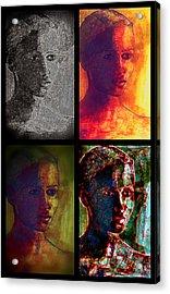 Four Seasons Acrylic Print by Diane montana Jansson