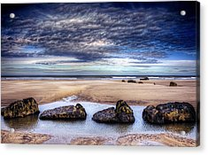 Four Acrylic Print by Svetlana Sewell