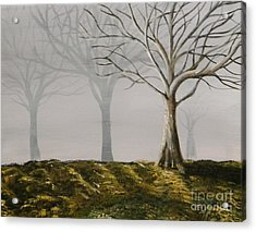 Four Trees Acrylic Print