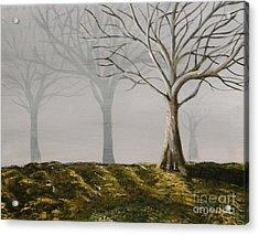 Four Trees Acrylic Print by Steven Dopka