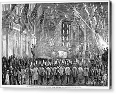 Fourth Of July, 1876 Acrylic Print by Granger