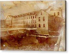 Fox River Mills Acrylic Print by Joel Witmeyer