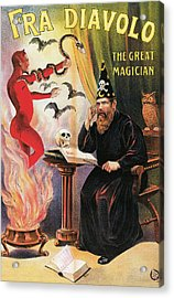 Fra Diavolo The Great Magician Acrylic Print by Unknown