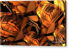Fractal - Orchestra Acrylic Print by Bernard MICHEL