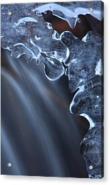 Fragile Ice Formation Acrylic Print by Ulrich Kunst And Bettina Scheidulin