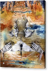 Fragmented Acrylic Print