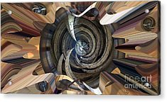 Frame Ceiling Acrylic Print by Ron Bissett