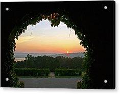 Framed Sunrise Acrylic Print