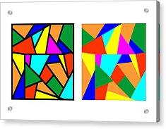 Framing Colour Illusion Acrylic Print