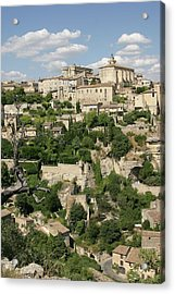 France, Provence, Village Of Gordes Acrylic Print by Jimmy Legrand
