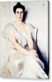 Frances Folsom Cleveland 1864-1947 Acrylic Print by Everett
