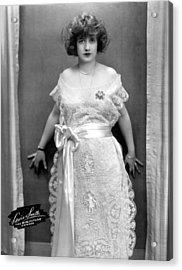 Francine Larrimore, Publicity Shot Acrylic Print by Everett