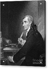 Francis Hopkinson (1737-1791) Acrylic Print by Granger