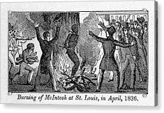 Francis L. Mcintosh, A Free Mulatto Acrylic Print by Everett