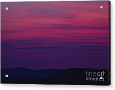 Franconia Notch State Park - White Mountain New Hampshire  Acrylic Print by Erin Paul Donovan