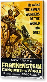 Frankenstein Conquers The World, Aka Acrylic Print by Everett