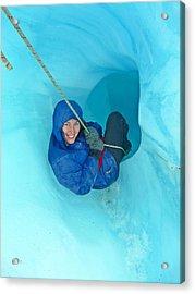 Franz Josef Into The Glacier Acrylic Print