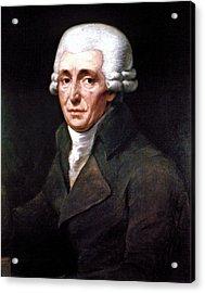Franz Joseph Haydn Acrylic Print by Granger