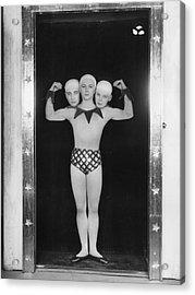 Freak Ballet Acrylic Print by Sasha