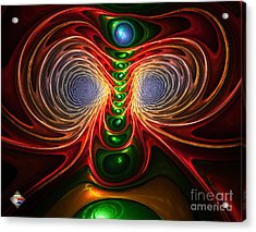 Freak Eyes Acrylic Print by Vidka Art