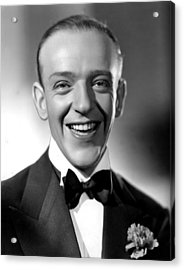 Fred Astaire, 1935 Acrylic Print by Everett