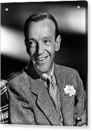 Fred Astaire, Ca. 1940s Acrylic Print by Everett