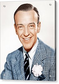 Fred Astaire, Ca. 1941 Acrylic Print by Everett